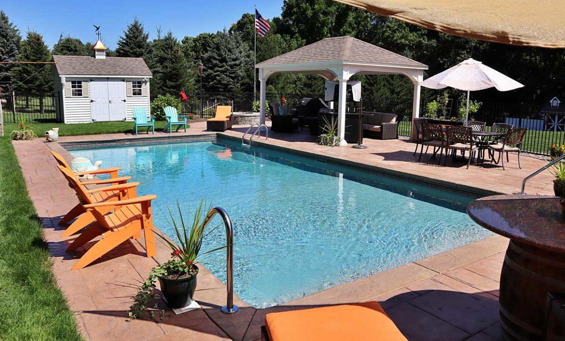 summer outdoor pool