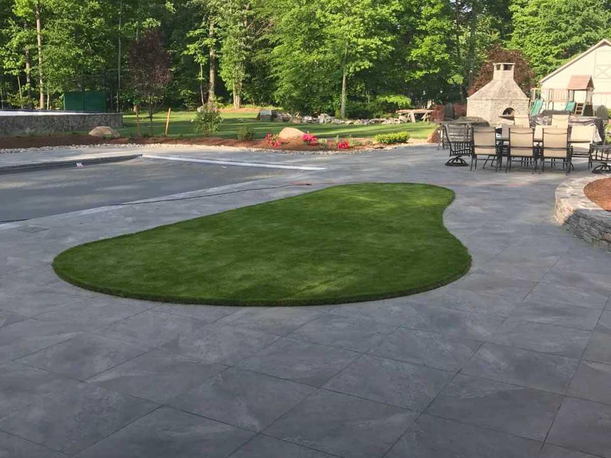 patio garden landscaping