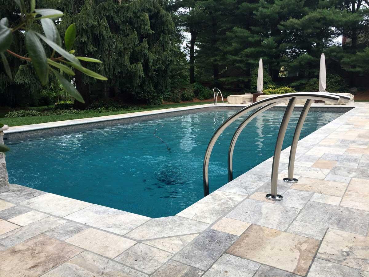 inground backyard pool