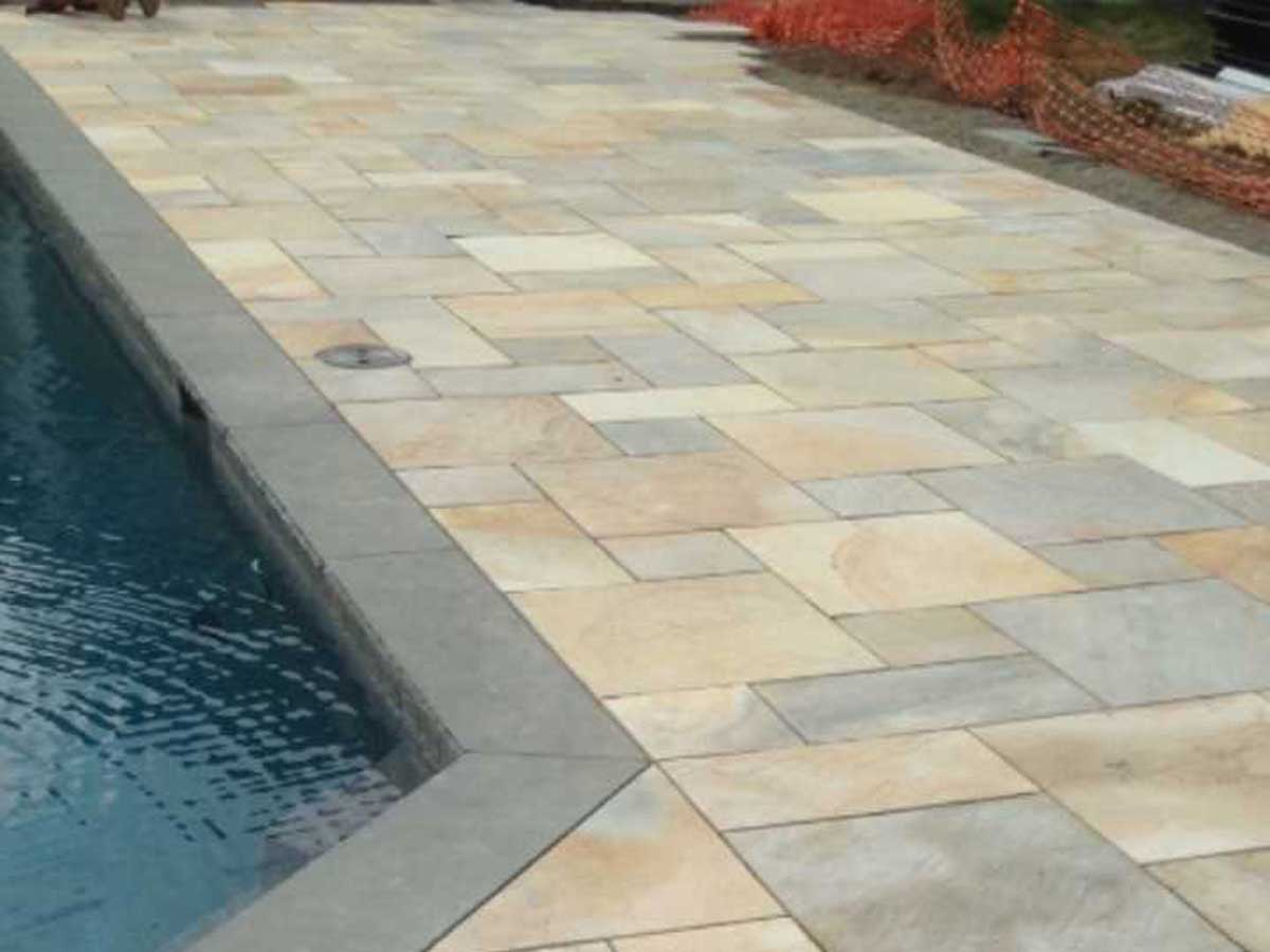 new patio masonry